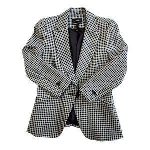 NWOT Le Chateau Houndstooth Jacket, Size XS